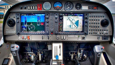 Keven S Aviation Adventure Da40 With A Glass Cockpit