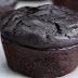 Receita saudável de muffin de chocolate com banana