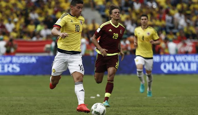 Venezuela vs Colombia en vivo Eliminatorias Rusia 2018