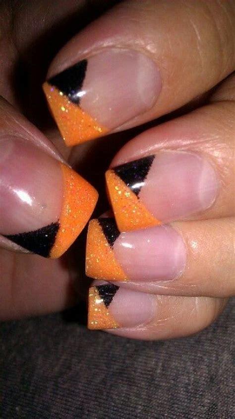 The 100+ Best Orange Nail art ideas