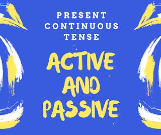 मैं आपको हिन्दी माध्यम से active and passive voice बनाना सीखाऊँगा, इस post को पढ़ने के बाद आपके लिए present continuous का Passive बनानां बहुत आसान हो जाएगा.