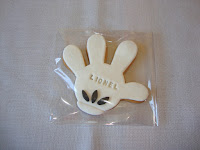 Galleta manopla Mickey Mouse