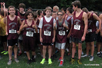 Montford Middle School cross country boys