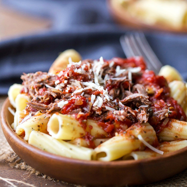 Slow Cooker Beef Ragu by I Heart Eating