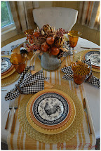 French Country Fall Tablescape