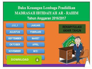 Buku Kas laporan Keuangan Sekolah dan Madrasah Terbaru Format Excel