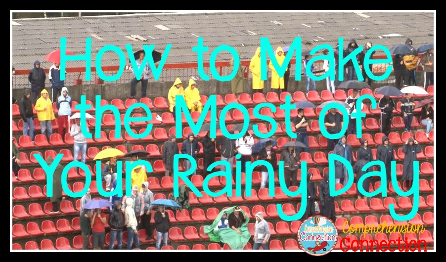 Rainy days are tough days. Check out this post for Rainy Day activities that will keep your kids engaged and manageable.