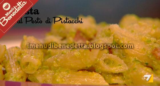 Pasta Al Pesto Di Pistacchi La Ricetta Di Benedetta Parodi