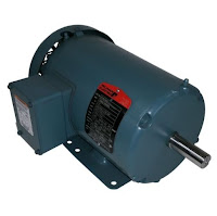 three phase TEFC induction motor