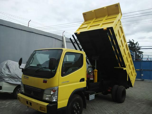 paket kredit dp super ringan colt diesel dump truck 2020