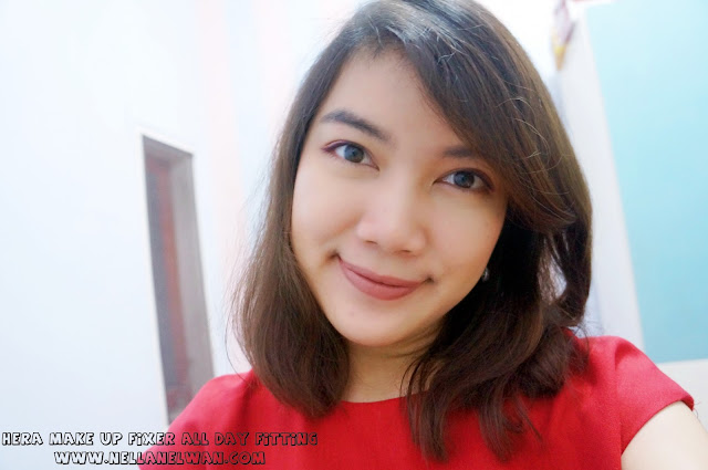 Hera Make Up Fixer All Day Fitting review indonesia blogger