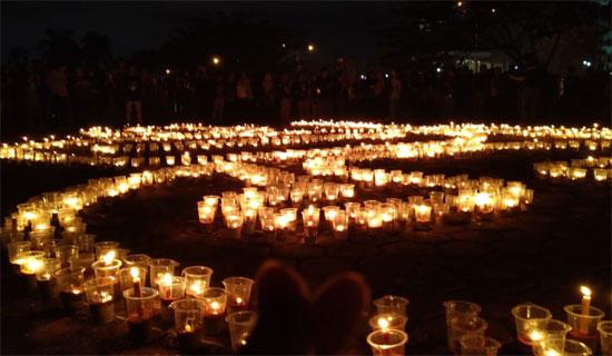 Earth Hour : Pontianak Hening Sejenak