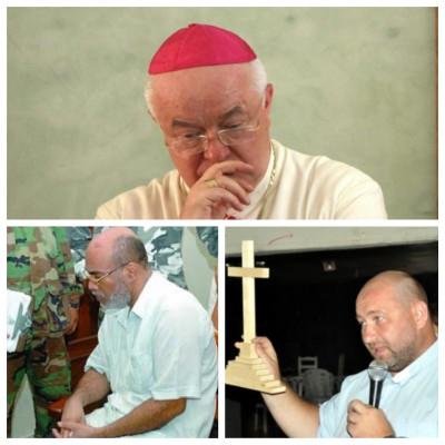 Asesinatos y violaciones, rosario de delitos de los religiosos católicos  en el país
