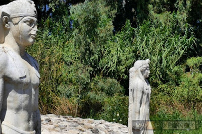 Βανδαλισμός στο ιερό των Αιγυπτίων Θεών στον Μαραθώνα