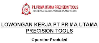 Lowongan Kerja Cikarang : PT Prima Utama Precision Tools - Quality Control