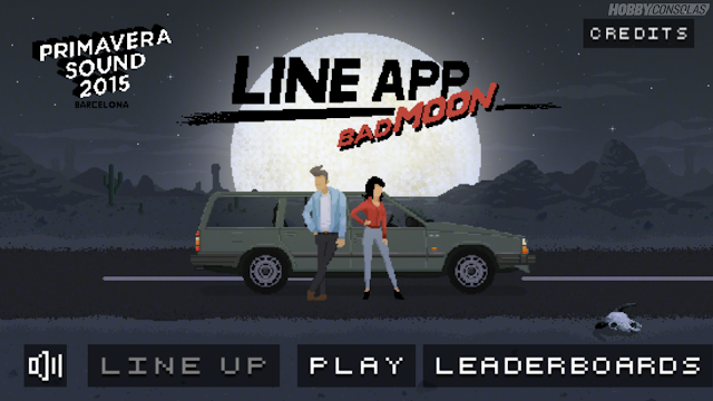 line app bad moon videojoc del primavera sound