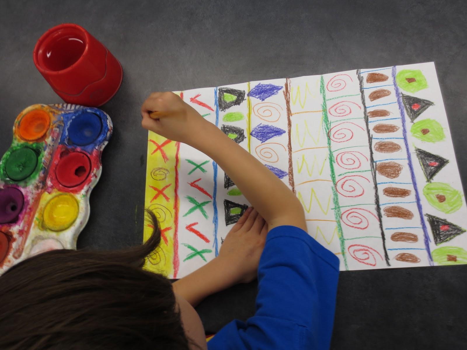 Zilker Elementary Art Class Kinder Patterns