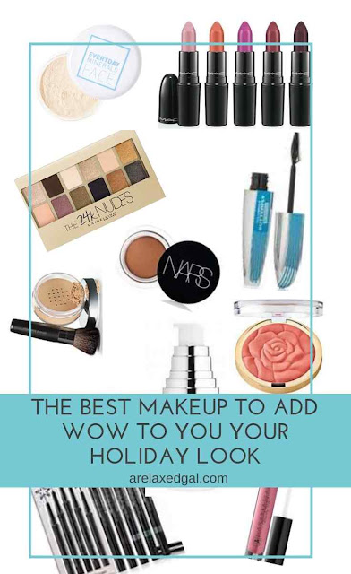 The Best Makeup To Add Wow To Your Holiday Look | A Relaxed Gal