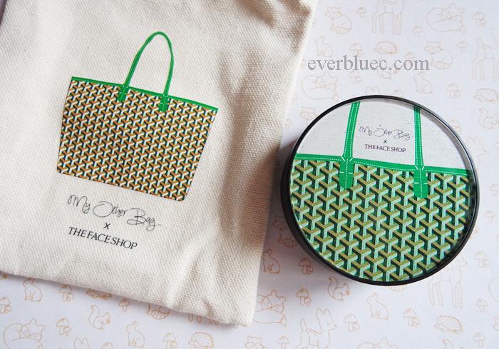 5e2a56a7fa88 everbluec: The Face Shop X My Other Bag limited edition cushion ...
