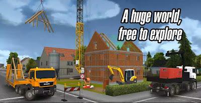 Downlaod Construction Simulator 2014 Apk + MOD (Unlimited Money)