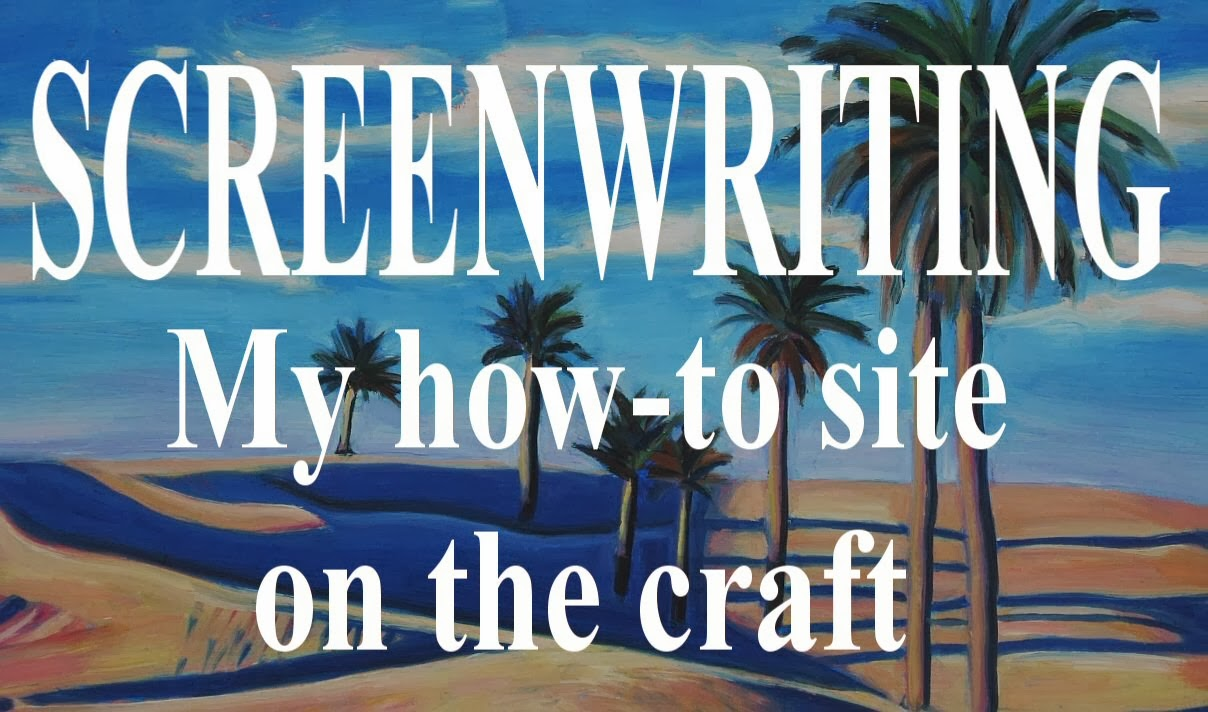 Screenwriting advice