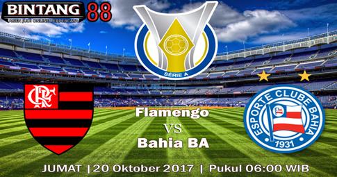 PREDIKSI SKOR Flamengo vs Bahia BA 20 OKTOBER 2017
