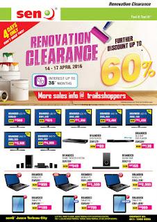 SenQ 4 Days Renovation Clearance Sale JB Singapore
