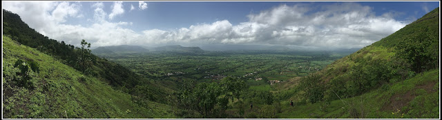 View from Vairaatgad Fort