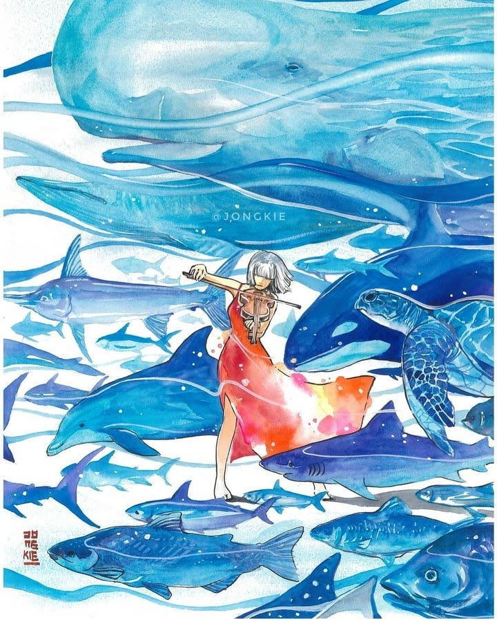 06-Symphony-of-the-Seas-LR-Mulyono-Watercolor-Paintings-www-designstack-co