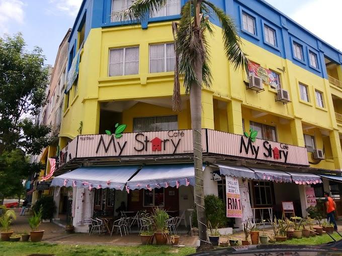 Makan Seafood Dari RM70 di My Story Cafe, Kota Kemuning