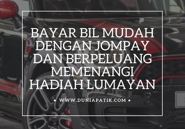 BAYAR BIL MUDAH DENGAN JOMPAY