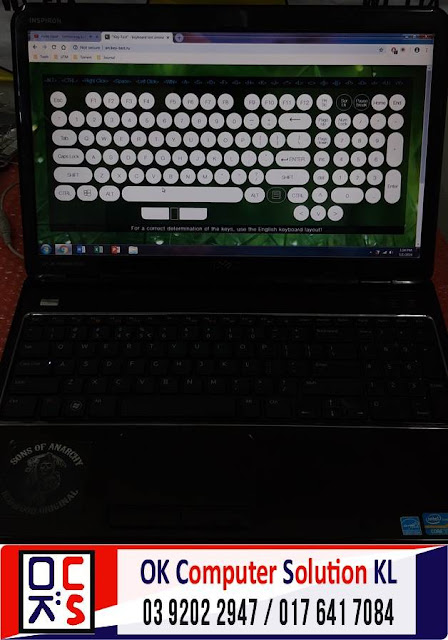 [SOLVED] MASALAH KEYBOARD DELL INSPIRON | REPAIR LAPTOP AMPANG 5