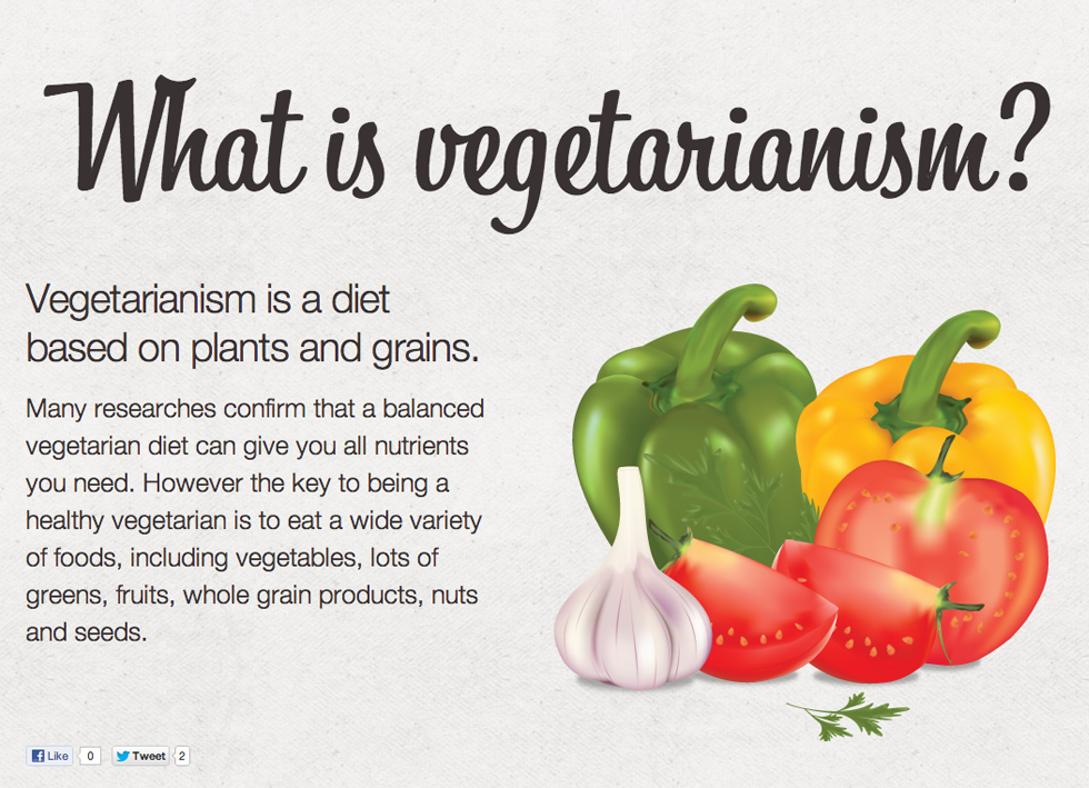 a discussion about the advantages and disadvantages of vegetarianism