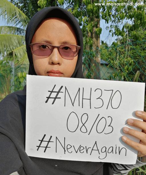 MH370 Sentiasa dalam Ingatan, Menjadi Kenangan