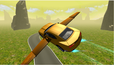 Flying Muscle Car Simulator 3D v2 Apk 2