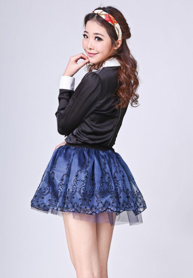 beragam pilihan rok mini wanita korea terbaru 2016
