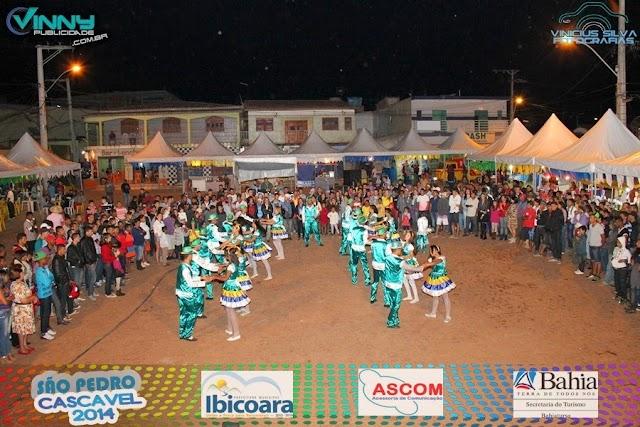 Imagens do 1º dia do São Pedro de Cascavel/Ibicoara