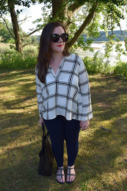 Sequins and Skulls: A Breezy Blouse