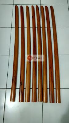 KIMU Gold Tiger Katori Shin Bokken