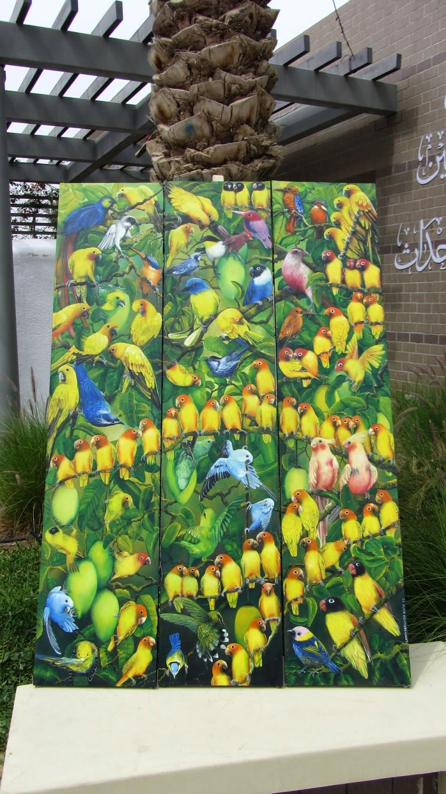 Mathaq: Taste of Art and Food Al-Khobar Saudi Arabia painting blog