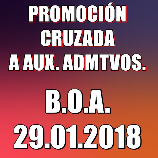 PROMOCIÓN CRUZADA 2018