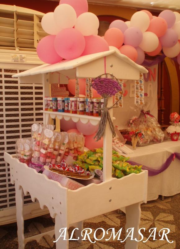 Alromasar candy car en madera for Mini candy bar de madera