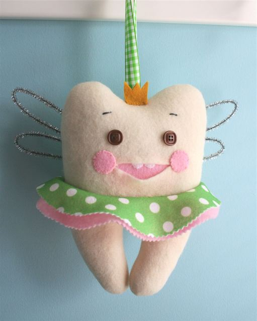 Template For Tooth Fairy Pillow