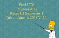 Populer Soal Uts Matematika Kelas 7 Semester 2 2019