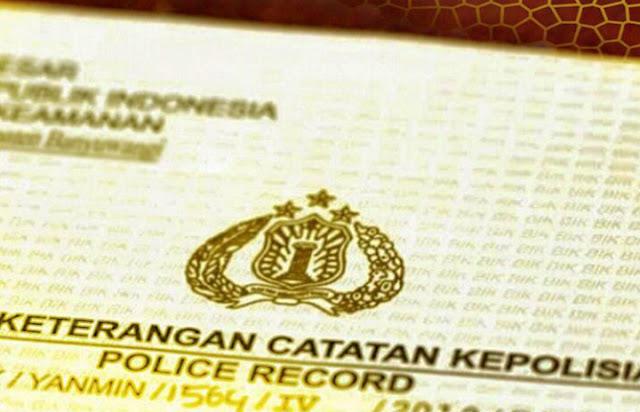 Surat Keterangan Catatan Kepolisian