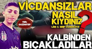 Gaziantep'te gece yarısı, kanlı cinayet: Kalbine sapladılar
