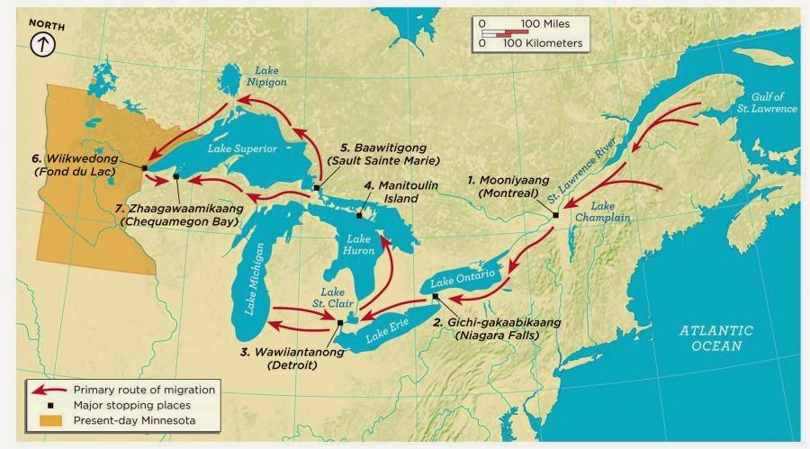 Turtle Island Ontario Map