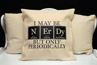 Chemistry Pillow