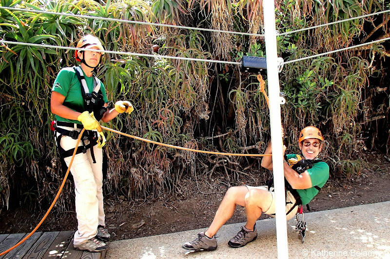 Elaine and Donald of Catalina Island Zip Line Eco Tour