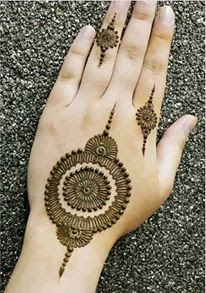 Mehndi simple designs for fingers